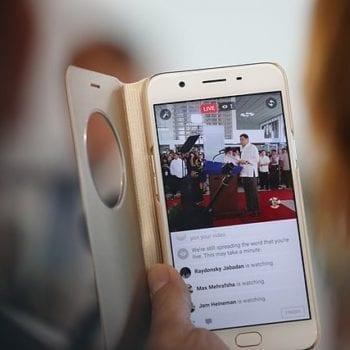 Facebook video ranking